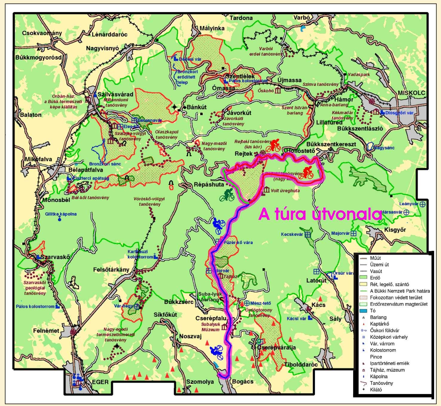bükkszentkereszt térkép Hór völgye bükkszentkereszt térkép
